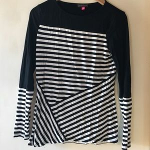 Striped Vince Camuto Shirt